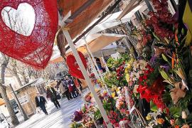 """Die größte Auswahl an Sträußen gibt es auf Palmas Blumenstraße """"La Rambla""""."""