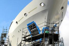 Eine Werft für die ganz großen Yachten