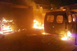 Lieferwagen in Camp de Mar ausgebrannt