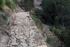 Alter Wanderweg nach Biniarroi wieder begehbar