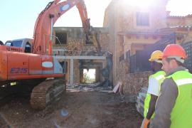 Reihenhaus in Ses Olleries wird abgerissen