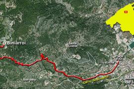Die Kurzwanderung führt von Mancor de la Vall hinauf zum Weiler Biniarroi.