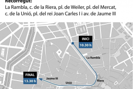 Straßen in Palma wegen Karneval gesperrt