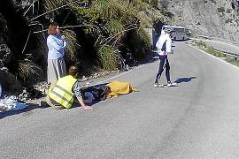 Radfahrer bei Sa Calobra schwer gestürzt