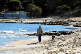 Die Cala Agulla gehört zu den Stränden, die unter Sandschwund leiden. Die meisten Insel-Pla-yas sind hingegen stabil.