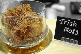 """Das """"Irish Moss"""" ist eine Alge, die als Bindemittel dient."""