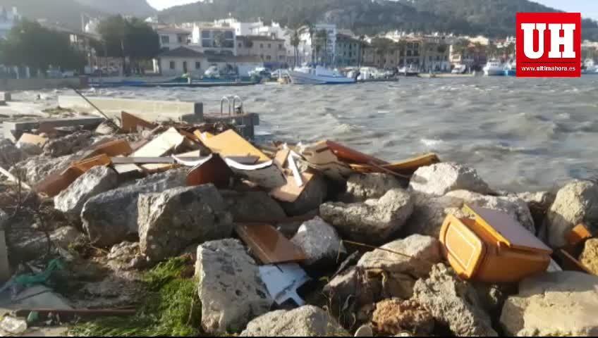 Starker Wind richtet Schäden auf Mallorca an