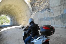 Tunnel bei Estellencs ist wieder befahrbar