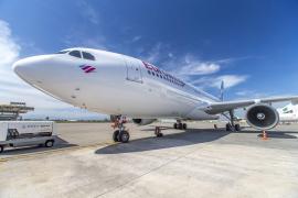 Mit dem Langstrecken-Airbus nach Mallorca