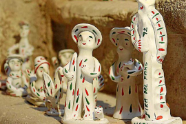 Original aus Marratxí: die emblematischen Siurell-Figuren.