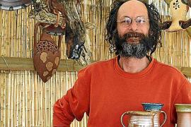 Der Deutsche Martin Wolf kommt seit mehr als 20 Jahren als Aussteller auf die Fira del Fang.