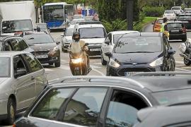 Fast 7000 Fahrzeuge mehr in Palma als im Vorjahr