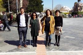 Neuer Service für Blinde auf Palmas Plaça d'Espanya