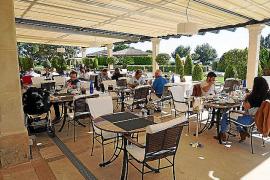 Die Mardavall-Terrasse auf Mallorca.