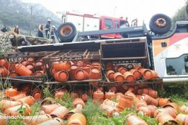 Aufregung um umgestürzten Butangas-Laster