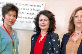 Die Tourismus-Staatssekretärin im spanischen Wirtschaftsministerium, Matilde Asián (M.), kam unter anderem mit Aptur Geschäftsfü