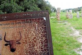 Zahlreiche talaiotische Fundstätten liegen rund um Costitx auf Mallorca.