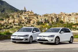 VW Präsentiert Elektro-Golfs auf Mallorca