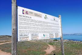 Zutritt zur Nekropolis von Son Real ist verboten