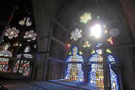 Fenster der Trinitätskapelle in Palma leuchten wieder