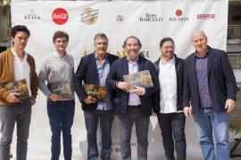 Projektpräsentation mit Tomeu Caldentey, Adrián Quetglas und Fernando Castellanos (von rechts).