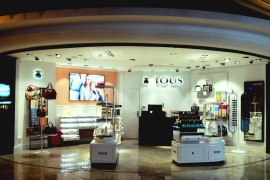Tous eröffnet Geschäft im Airport Palma