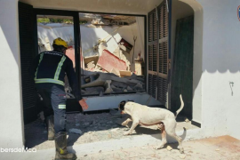 Hausdach in Cala Rajada eingestürzt