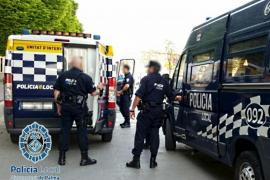 Wilde Verfolgungsjagd durch Palma de Mallorca