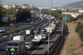 Luft in Palma mit Abgasen belastet