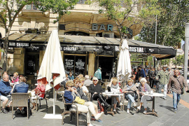 Zukunft der Bar Cristal an Plaza España unklar