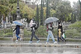 Kälteeinbruch halbiert am Donnerstag die Mallorca-Temperaturen