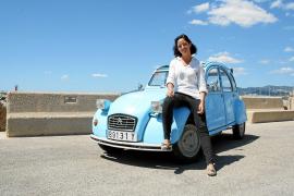 Mallorquinerin mit dem Auto auf Weltreise