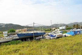 Andratx verbietet das Lagern von Booten an Land