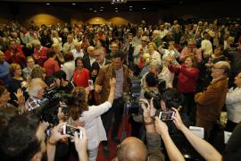 Pedro Sánchez Ende April auf Mallorca.
