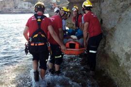 Der Rettungseinsatz auf Mallorca gestaltete sich sehr schwierig.