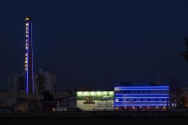 Denkmalschutzverband kritisiert Leuchtreklame