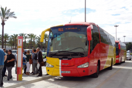 200 Personen nutzen täglich die Flughafenbusse