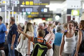 Terminal A auf Mallorca an den Wochenenden überlastet