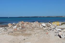Chiringuitos am Es-Trenc-Strand sind schon alle platt