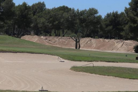 Rathaus Calvià stoppt Bauarbeiten auf Golfplatz