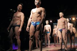 Die Männer präsentierten sich auf dem Schönheitswettbewerb in Cala Rajada