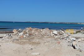 Die Chiringuitos wurden innerhalb von zwei Tagen abgerissen