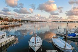 Portocolom: Abendstimmung am Hafen