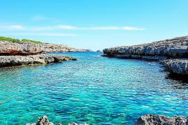Die Cala Marçal im Südwesten Mallorcas, eines der Lieblings-Motive des Fotografen