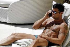 Ricky Martin fühlt sich auf Mallorca richtig wohl