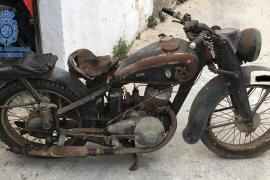 Motorrad aus dem Ersten Weltkrieg sichergestellt