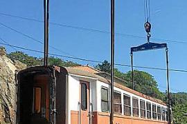 Ein historischer Zug für den Inselosten