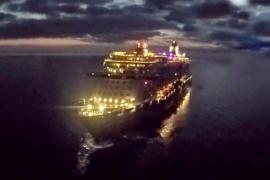 """Die """"Mein Schiff 5"""" befand sich auf dem Weg von Italien nach Palma."""