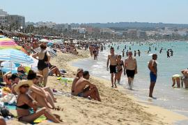 33 Grad – Mallorcas Strände prall gefüllt