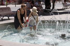 Erste Hitzewarnung in diesem Jahr auf Mallorca